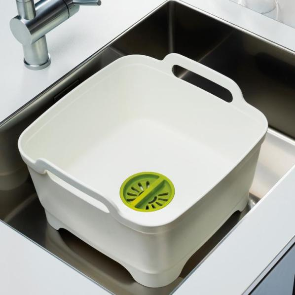 Other Cleaning  Joseph Joseph Wash & Drain Washing Up Bowl  Green & # Wasbak Plug_025130