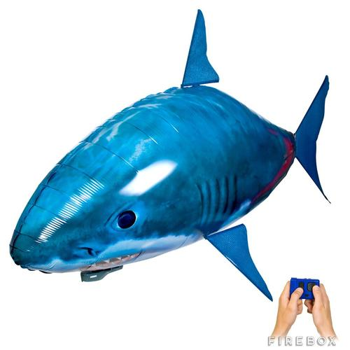 Other air swimmer remote control shark swim through for Remote control air swimming fish