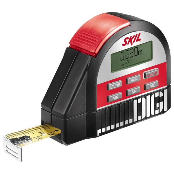 Electronic Tape Measure : Measuring levelling skil aa digital tape measure
