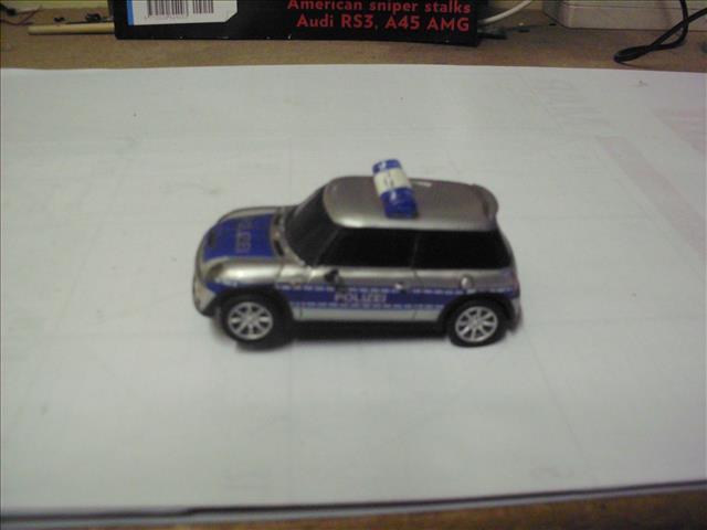 cars 1 43 scale slot car carrera go mini polizei for. Black Bedroom Furniture Sets. Home Design Ideas
